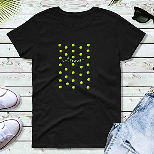 Top fun tennis ball spots design T-shirt print motifs make the best gift ideas for friends