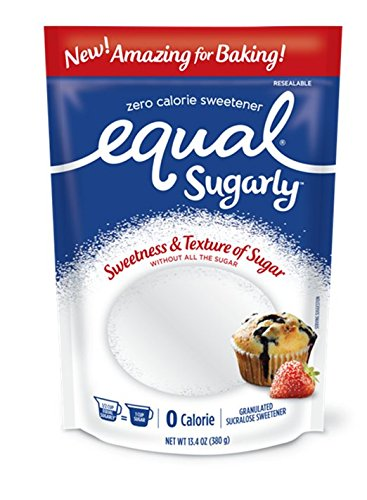 - Equal Sugarly Sweetener, 13.4 Ounce