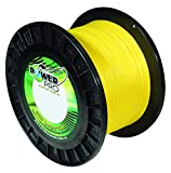 PowerPro Power Pro 21101500300Y Braided Spectra Fiber Fishing Line, 150 Lb/300 yd, Hi-VIS Yellow