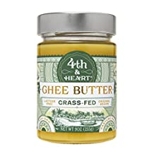 Fourth & Heart Original Grass Fed Ghee, Clarified Butter (6x9 OZ)