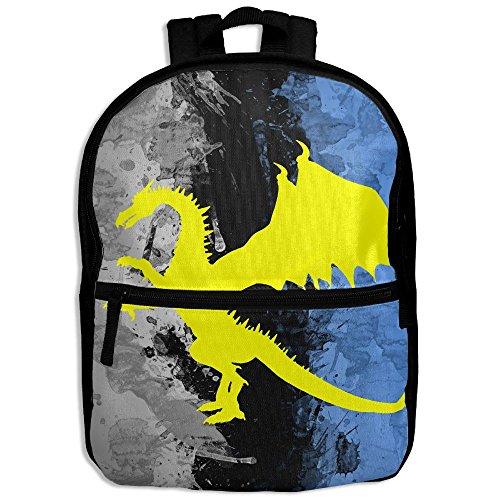 Eagle Wings Costume For Sale (Dragon Hot Sale Child Shoulder School Bag School Backpack Satchel For Teens Boys Girls Students Black)