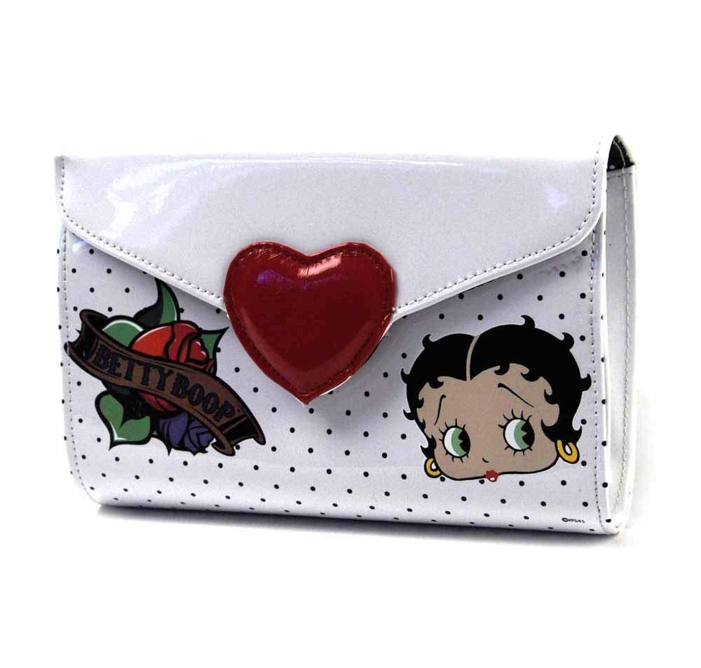 /brevet Sac dembrayage de qualit/é sup/érieure Licence Officielle Betty Boop Heartbreaker/