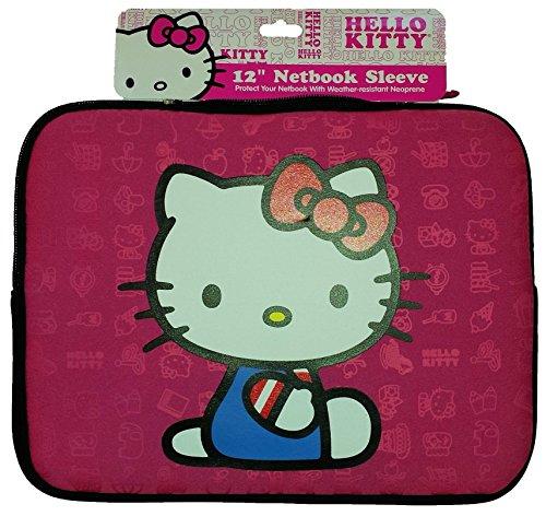 Hello Kitty 20509 Netbook Sleeve (Netbook Hello Kitty Bag)