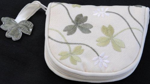 - Jewelry Purse in a Shamrock Design