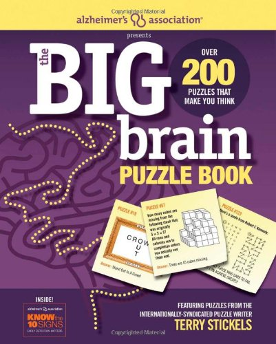 Alzheimer's Association Presents The Big Brain Puzzle Book: Terry ...
