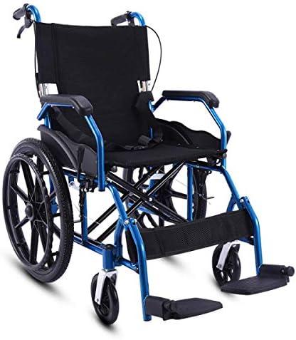 自走式 車いす 介助式車椅子 医療器超軽量折り畳み 車イス 携帯式軽量型搬送椅子 お年寄りや子供向け 介助ブレーキ付きノーパンクタイヤ