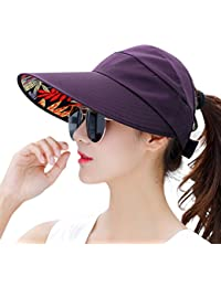 Sun Hats for Women Wide Brim UV Protection Sun Hat Visor Floppy Fishing Packable Caps