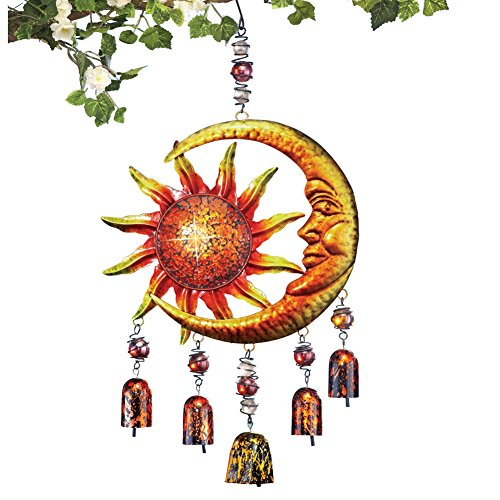 Celestial Sun & Moon Wind Chime - Moon Chime
