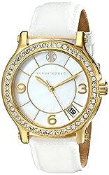 Klaus Kobec Women's KK-10019-03 Venes Analog Display Japanese Quartz White Watch