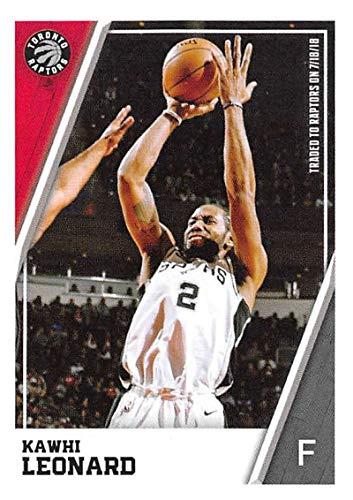 d57a44bee1956 Amazon.com: 2018-19 Panini NBA Stickers Collection #184 Kawhi ...
