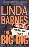Front cover for the book The Big Dig by Linda Barnes
