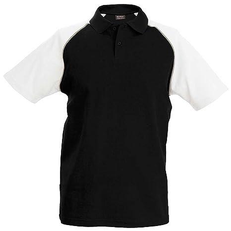 Kariban Baseball Mens Polo Shirt: Amazon.es: Deportes y aire libre