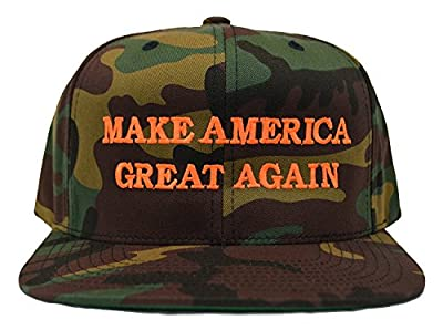 Make America Great Again Donald Trump Hat - Classic Camo