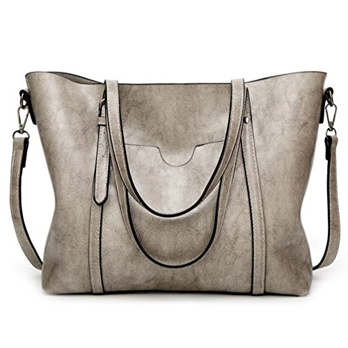 - LoZoDo Women Top Handle Satchel Handbags Shoulder Bag Tote Purse