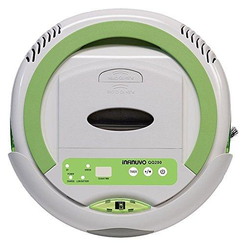 Infinuvo QQ 200 White Robot Vacuum Cleaner