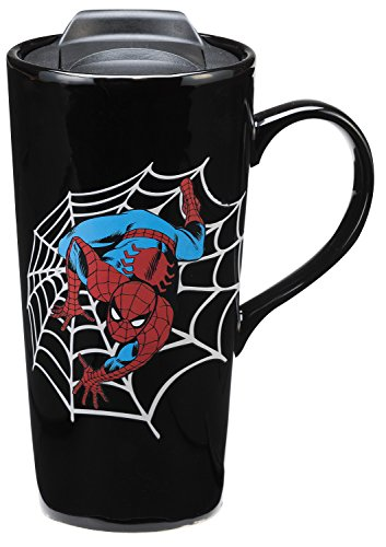 Vandor Marvel Spider-Man 20 Oz. Heat Reactive Travel Mug (26851)