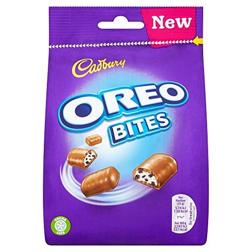 Original Cadbury Dairy Milk Oreo Bites Bag Imported From The Uk England The Very Best Of British Candy Cadbury Oreo Bites Chocolate Packet  110G