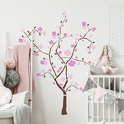 - RoomMates Spring Blossom Peel and Stick Giant Wall Decal