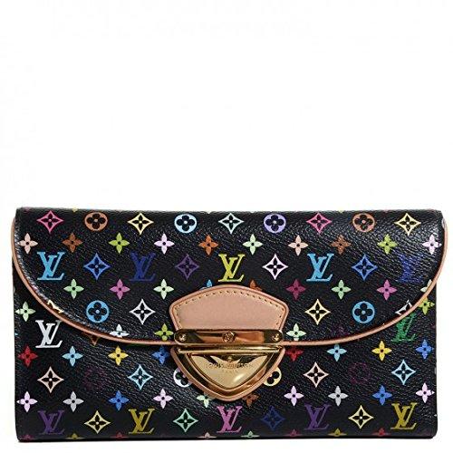 111048408bbc8 New Louis Vuitton Black Monogram Multicolor Eugenie Wallet  Amazon.co.uk   Shoes   Bags
