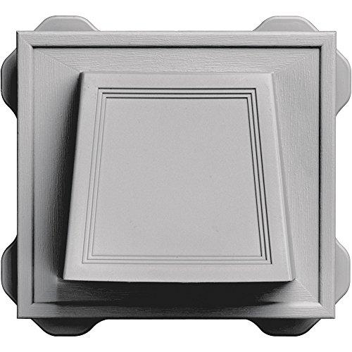 (Builders Edge 140116774016 Vent, Gray)