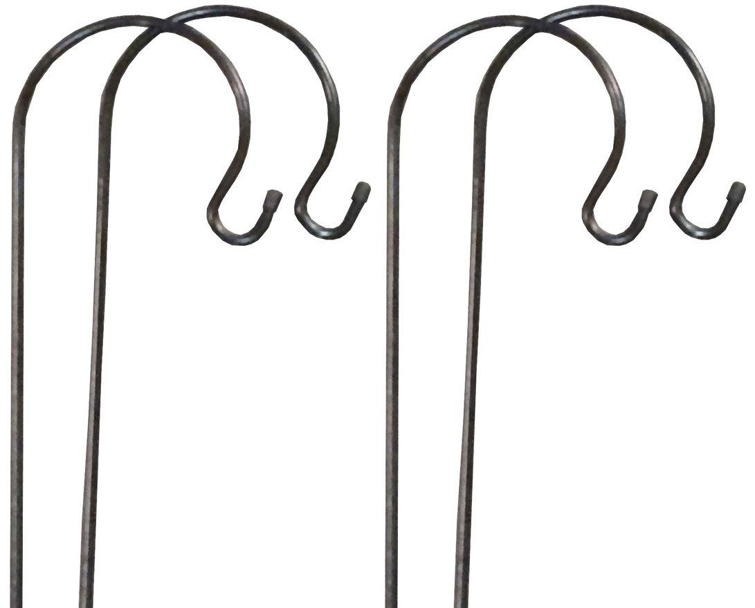 Gardman s Shepherd'4 x crochets pour suspendre des mangeoires en forme de bougie & lanternes 1 m Selections