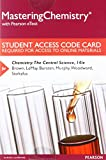 img - for MasteringChemistry with Pearson eText -- Standalone Access Card -- for Chemistry: The Central Science (14th Edition) book / textbook / text book