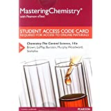 Mastering Chemistry with Pearson eText -- Standalone Access Card -- for Chemistry: The Central Science (14th Edition)