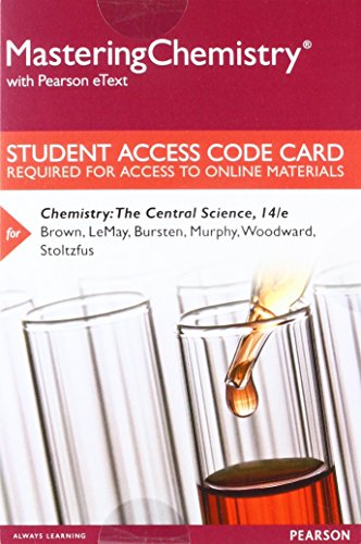 Chemistry:Central Sci. Mastering.W/Etxt