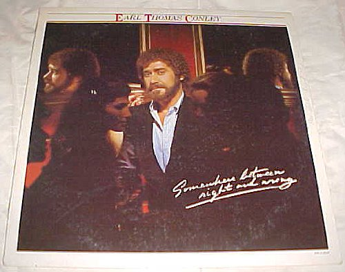 Somewhere Between Right and Wrong By Earl Thomas Conley Album Record Vinyl LP