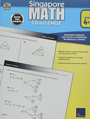 Singapore Math Challenge, Grades 4 – 6