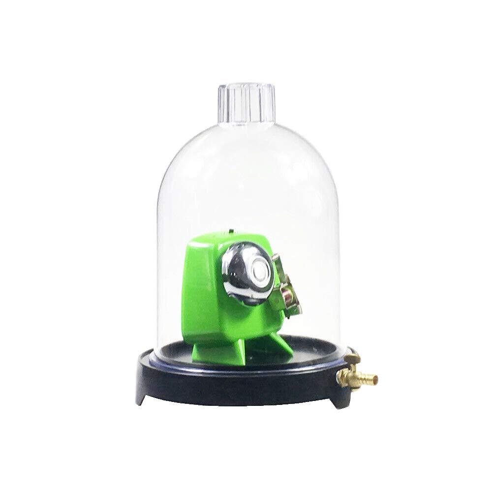 Vacuum Hood Suction Disc Bell in Vacuum Laboratory Plastic Jar Sound Physics