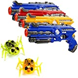 Infrared laser tag laser tag toys with nano bugs 4 guns with tow nano bugs