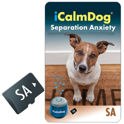 iCalmDog Canine Separation Anxiety Micro SD sound card for the Player   Simple and effective training program by Victoria Stilwell with clinically-proven music by Through a Dog's Ear