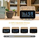 USCCE Digital Alarm Clock Radio