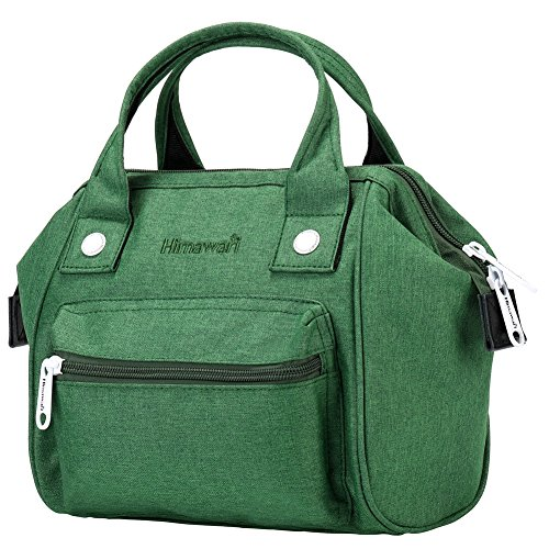 Himawari Women's Soft Top Handle Bag Tote Bags With Canvas Handbags Backpack (SY Green) by Himawari