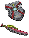 Lego Legends of Chima Role-Play Cragger Croc Tribe Sword and Shield