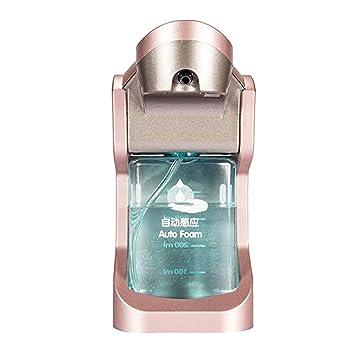 Homyl Dispensador Automático de Jabón con Sensor Accesorios de Laboratorio Producto Comercial - Oro rosa