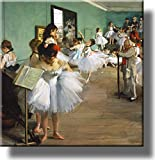 The Dance Class By Edgar Degas Picture on Stretched Canvas, Wall Art Décor, Ready to Hang!