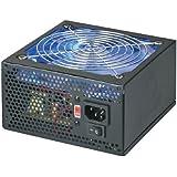 Coolmax 600W 140mm Blue LED Fan Power Supply VL-600B (Black)