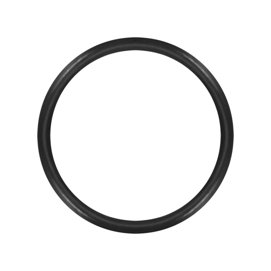 14mm OD sourcingmap O-Rings Nitrile Rubber Pack of 50 1mm Width Round Seal Gasket 12mm Inner Diameter
