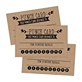 25 Rewards Punch Cards For Kids, Students, Teachers, Small Business, Classroom, Chores, Reading Incentive Awards For Teaching Reinforcement Education Class Supplies Loyalty Encouragement Work Supply