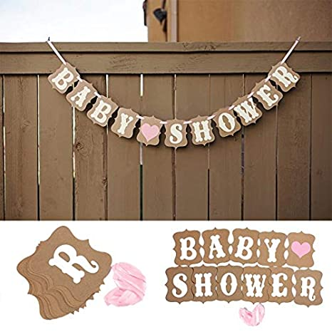 Kids Sweet Wedding Banner Party Bunting Garland Photo Props Hanging Decor Sign 1
