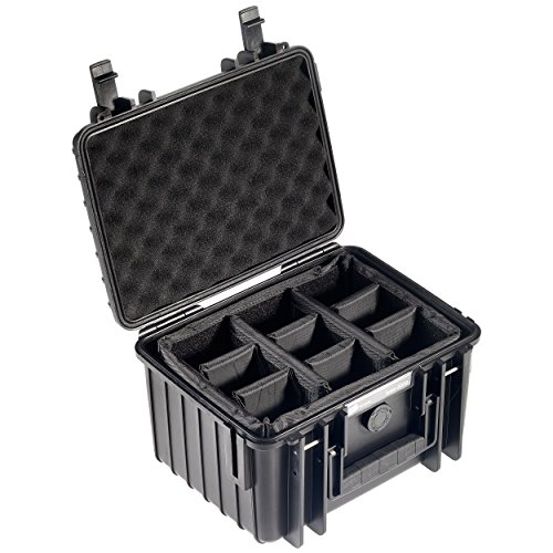 Type 2000 Outdoor Case with RPD Insert, Black