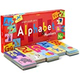 eeBoo Puzzle Pairs: Alphabet & Numbers (72 pc)