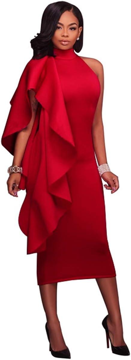 Vestido YONGYONGCHONG Falda Larga de Color sólido con Falda ...