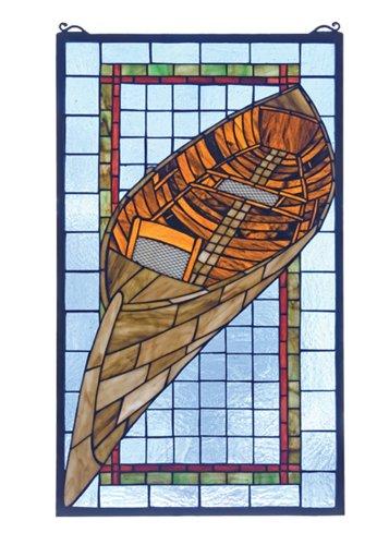 Meyda Tiffany Guideboat Window Panel ()