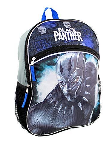Marvel Black Panther Boy's 16 inch School Backpack (One Size, Black)
