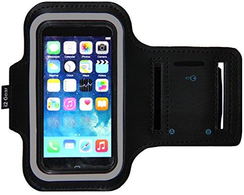 Sports Armband for iPhone 4/4s/5/5s (Black) - 3