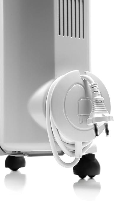 De Longhi Trrs0715 Radia S Oil Filled Radiators 1500 W 230 V White 10