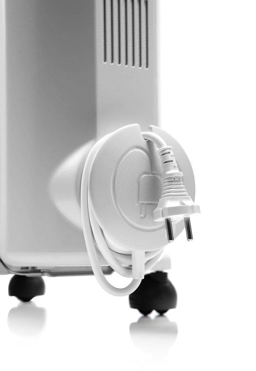 DeLonghi TRRS 0920 Calefactor, Radiador, Interior, Giratorio, ajustes de termostato, 9 elementos, 2000 W, 900 W, blanco: Amazon.es: Hogar